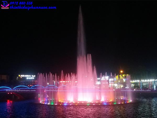 Đài phun nước thị xã Phổ Yên - Thái Nguyên 3