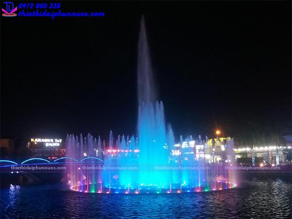 Đài phun nước thị xã Phổ Yên