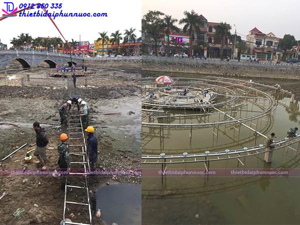 Đài phun nước thị xã Phổ Yên - Thái Nguyên 6