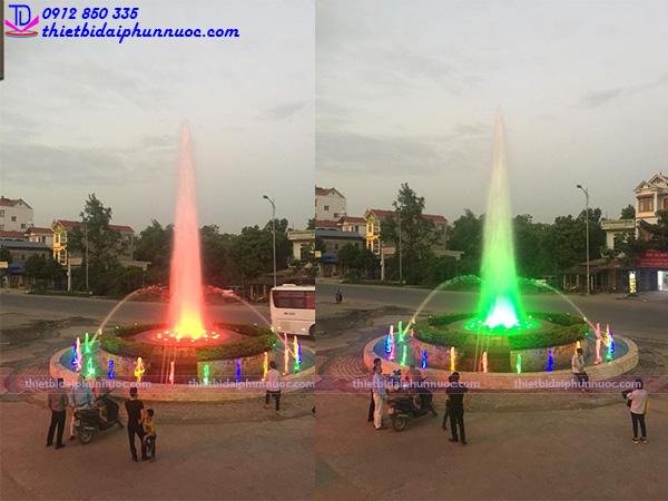 Đài phun nước trung tâm thương mại Bình An - Sóc Sơn - Hà Nội 1