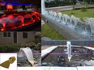 Vòi phun nước hình quạt Fan Jet