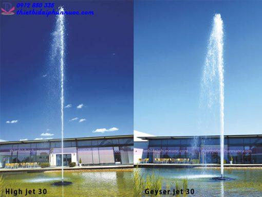 Đầu phun cột nước lớn High Jet 30