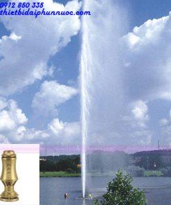 Đầu phun dạng cột nước Geyser