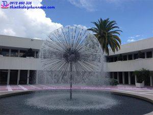 Đầu phun nước hình cầu