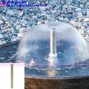 Vòi phun nước hình nấm Lava