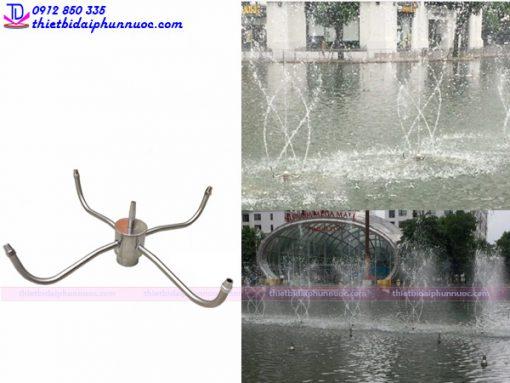 Vòi phun múa quay tròn Dancing Fountain