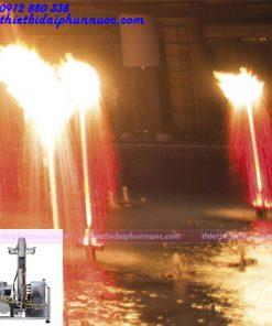 Vòi phun nước tạo lửa