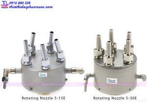 Vòi phun quay Rotating Nozzle