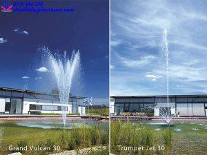 Vòi phun nước tạo hìnhTrumpet Jet 30 vàGrand Vulcan 30