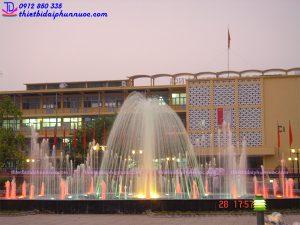 Đài phun nước trường ĐH Bách Khoa Hà Nội