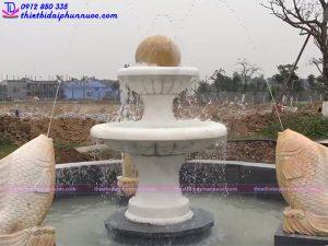 Đài phun nước bằng đá 1