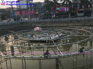 Hệ thống phun nước nghệ thuật thị xã Phổ Yên - Thái Nguyên