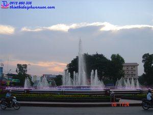Đài phun nước thành phố Thái Nguyên