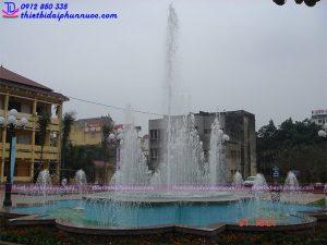 Hệ thống phun nước lập trình trường ĐHSP Thái Nguyên