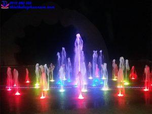 Đài phun nước âm sàn quảng trường Xuân Thành - Hà Tĩnh
