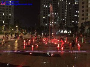 Đài phun nước âm sàn khu đô thị An Bình city 3