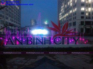 Đài phun nước âm sàn khu đô thị An Bình city 4