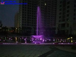 Đài phun nước âm sàn khu đô thị An Bình city 5