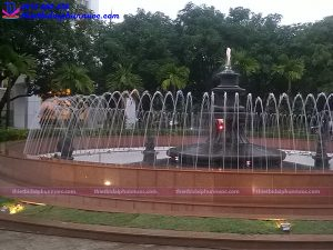 Đài phun nước bể tròn trường Đại học Quốc Gia Hà Nội 7