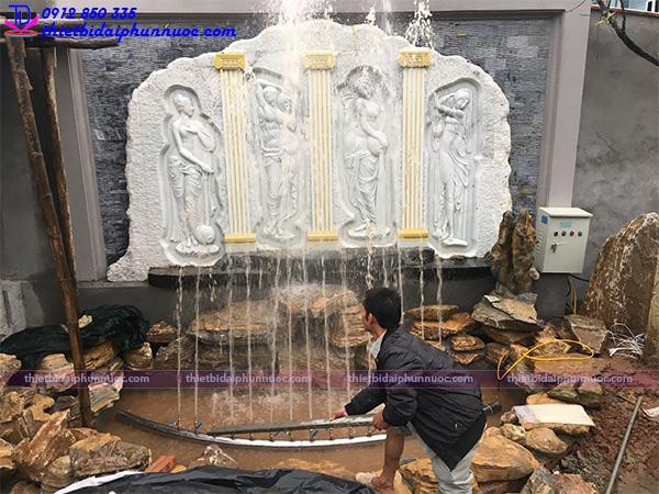 Đài phun nước mini sân vườn 6