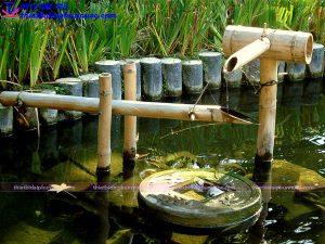 Đài phun nước mini tiểu cảnh 9