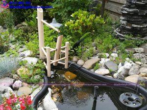 Đài phun nước mini tiểu cảnh 8
