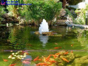 Đài phun nước mini tiểu cảnh 7