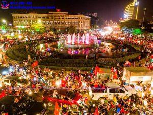 Đài phun nước nghệ thuật TP Thái Nguyên 10