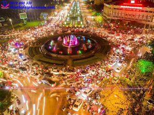 Đài phun nước nghệ thuật TP Thái Nguyên 11