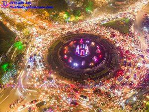 Đài phun nước nghệ thuật TP Thái Nguyên 14
