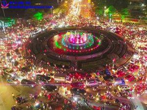 Đài phun nước nghệ thuật TP Thái Nguyên 16