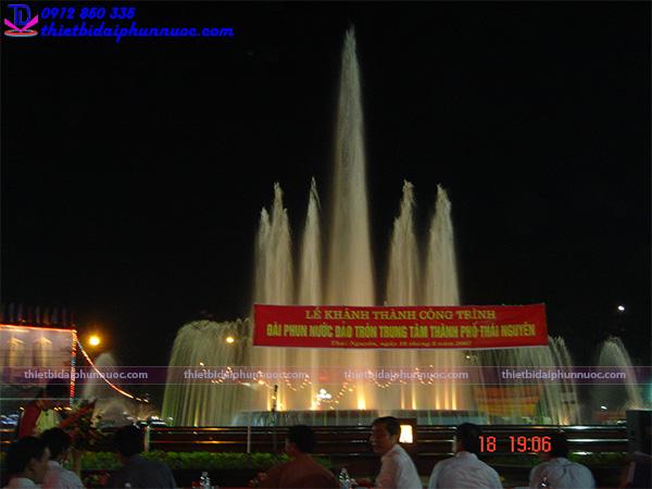 Đài phun nước nghệ thuật thành phố Thái Nguyên 3