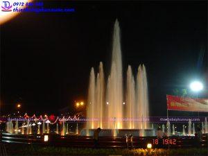 Đài phun nước nghệ thuật thành phố Thái Nguyên 4