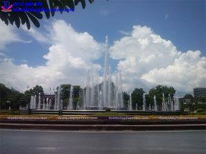 Đài phun nước nghệ thuật thành phố Thái Nguyên 6