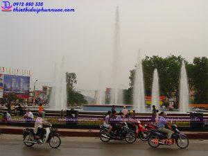 Đài phun nước nghệ thuật thành phố Thái Nguyên 7