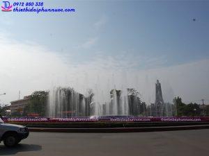 Đài phun nước nghệ thuật thành phố Thái Nguyên 8