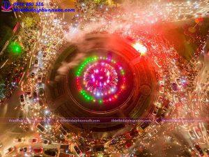 Đài phun nước nghệ thuật TP Thái Nguyên 9