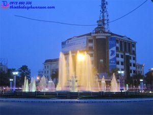 Đài phun nước thành phố Vĩnh Yên 1