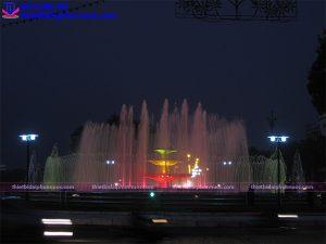 Đài phun nước thành phố Vĩnh Yên 2