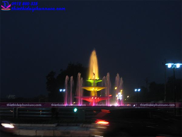 Đài phun nước thành phố Vĩnh Yên 3