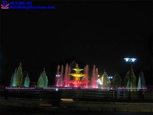 Đài phun nước thành phố Vĩnh Yên 4