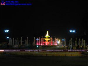 Đài phun nước thành phố Vĩnh Yên 5