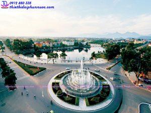 Đài phun nước thành phố Vĩnh Yên 6