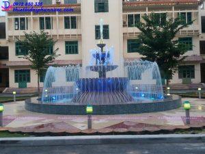 Đài phun nước trụ sở công an tỉnh Phú Thọ 1
