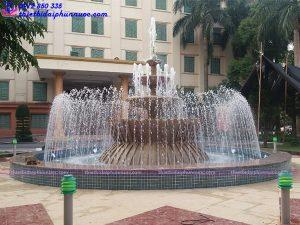 Đài phun nước trụ sở công an tỉnh Phú Thọ 2