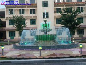 Đài phun nước trụ sở công an tỉnh Phú Thọ 3