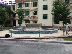 Đài phun nước trụ sở công an tỉnh Phú Thọ 4