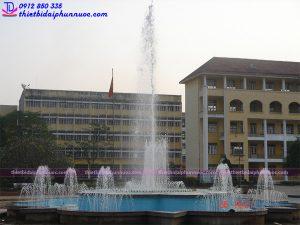 Đài phun nước trường đại học sư phạm Thái Nguyên 1