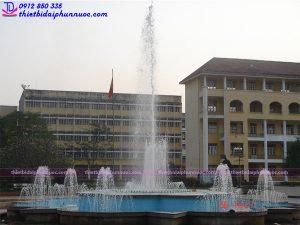 Đài phun nước trường đại học sư phạm Thái Nguyên 2