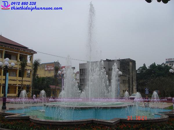 Đài phun nước trường đại học sư phạm Thái Nguyên 3
